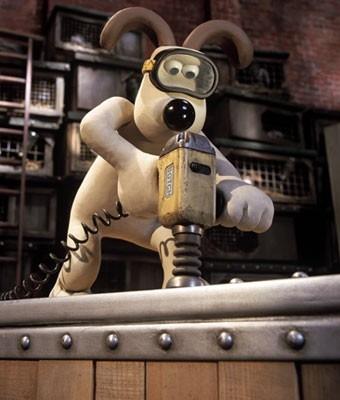 Il cane protagonista di Wallace & Gromit: La maledizione del coniglio mannaro