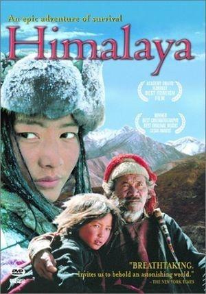 La locandina di Himalaya, l'infanzia di un capo