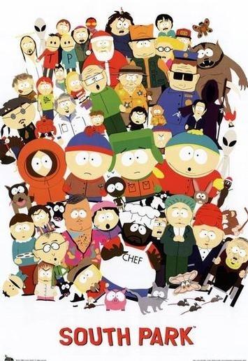 La locandina di South Park