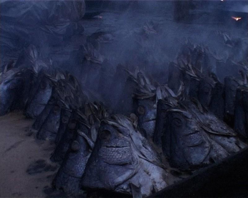 Una scena del film L'incubo di Darwin