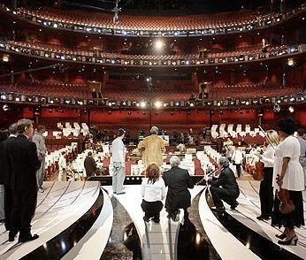 Al Kodak Theater prova l'orchestra