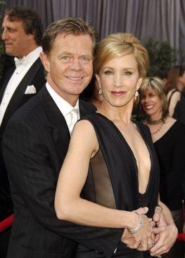 Felicity Huffman con il marito William H. Macy