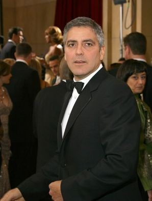 George Clooney sul red carpet