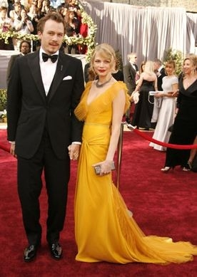 Heath Ledger e Michelle Williams
