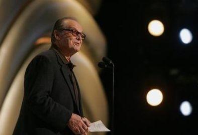 Jack Nicholson prova la presentazione dell'Oscar al miglior film 2006