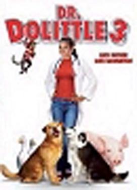 La copertina DVD di Dottor Dolittle 3