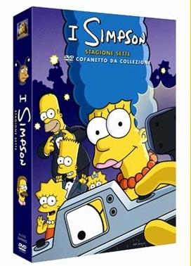 La copertina DVD di I Simpsons - Stagione 7