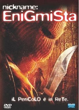 La copertina DVD di Nickname: l'enigmista