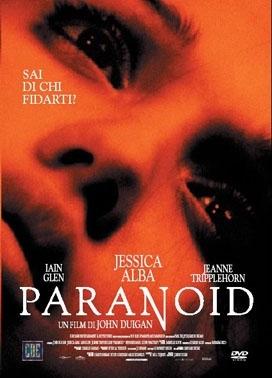 La copertina DVD di Paranoid