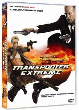 La copertina DVD di Transporter: extreme