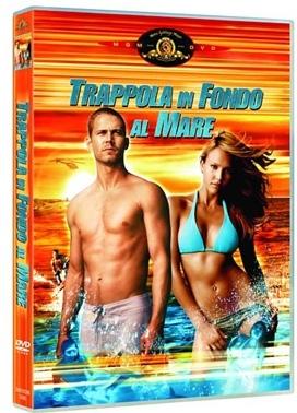 La copertina DVD di Trappola in fondo al mare