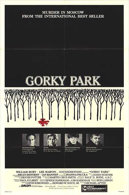 La locandina di Gorky Park