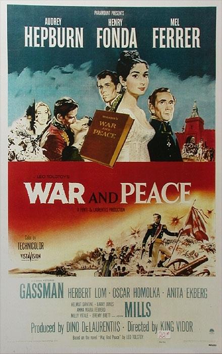 La locandina di Guerra e pace