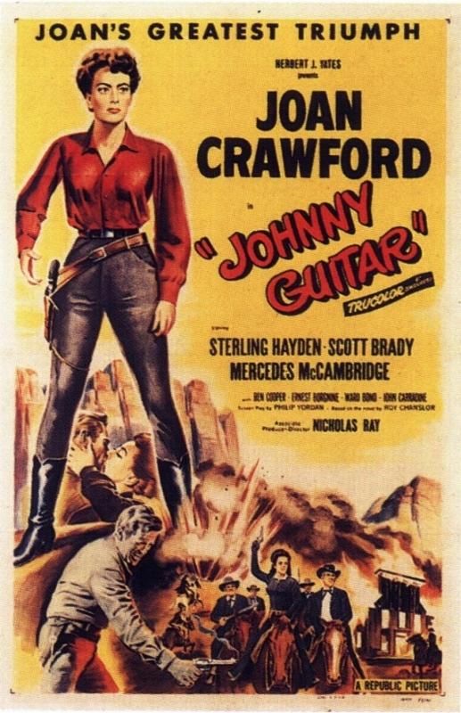 La locandina di Johnny Guitar
