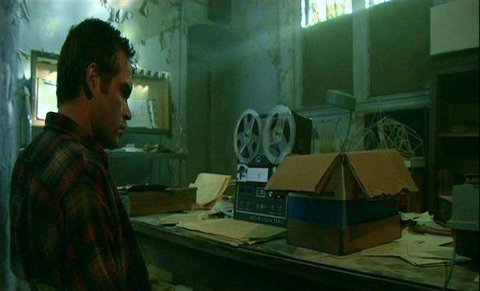 Stephen Gevedon in una scena di SESSION 9
