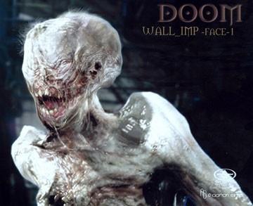 Un'immagine inquietante per il film Doom