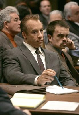 Vin Diesel e Peter Dinklage in Find Me Guilty