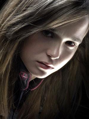 Ellen Page in una foto promozionale per X-Men 3