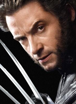 Hugh Jackman in una foto promozionale per X-Men 3