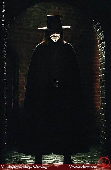Hugo Weaving in V per Vendetta