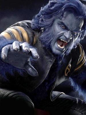 Kelsey Grammer in una foto promozionale per X-Men 3