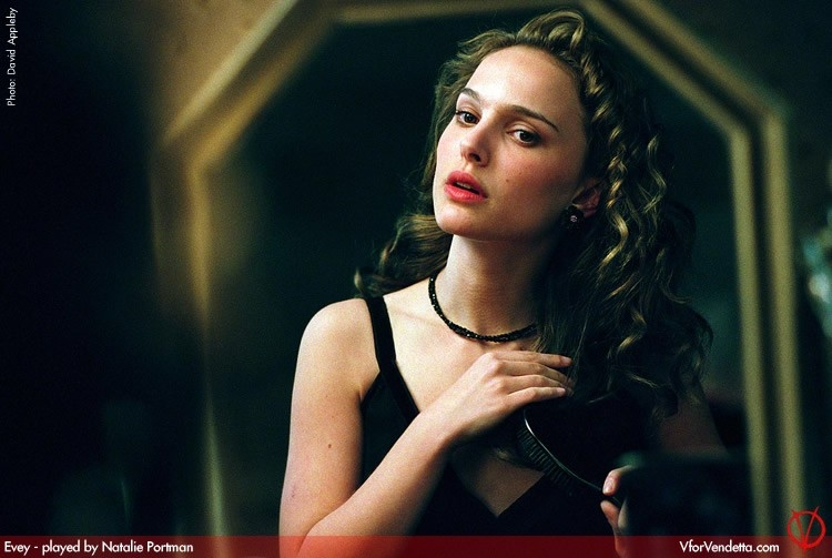 Natalie Portman in V for Vendetta