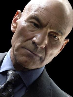Patrick Stewart in una foto promozionale per X-Men 3