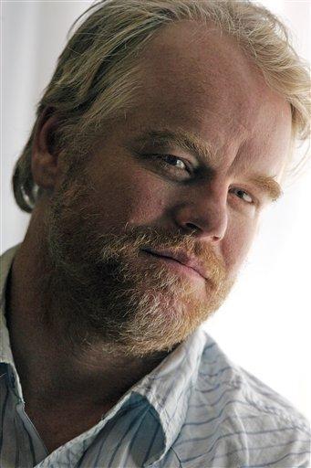 una foto dell'attore Philip Seymour Hoffman