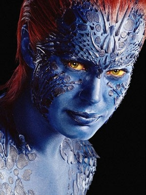 Rebecca Romijn Stamos in una foto promozionale per X-Men 3