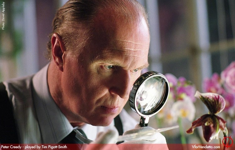 Tim Pigott Smith in V for Vendetta