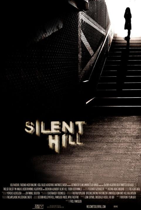 Una delle locandine di SILENT HILL, ispirato all'omonimo videogame