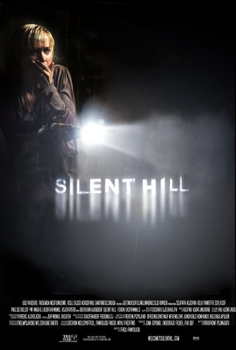 Una delle più belle locandine di SILENT HILL realizzate per il concorso indetto dalla produzione