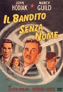 La copertina DVD di Il bandito senza nome