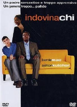 La copertina DVD di Indovina chi