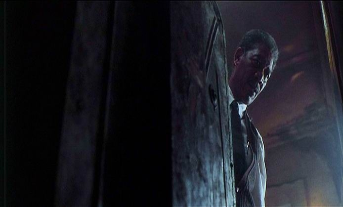 Morgan Freeman nel film SEVEN