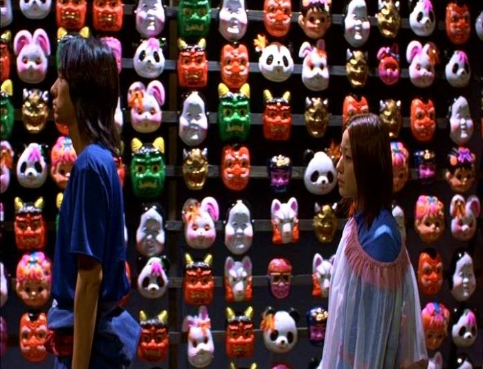 Hidetoshi Nishijima e Miho Kanno in una suggestiva scena di DOLLS
