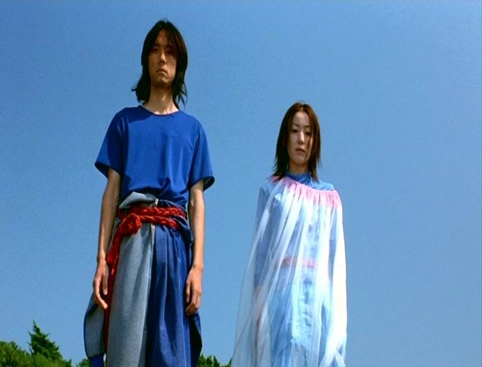 Hidetoshi Nishijima e Miho Kanno sono i protagonisti di DOLLS