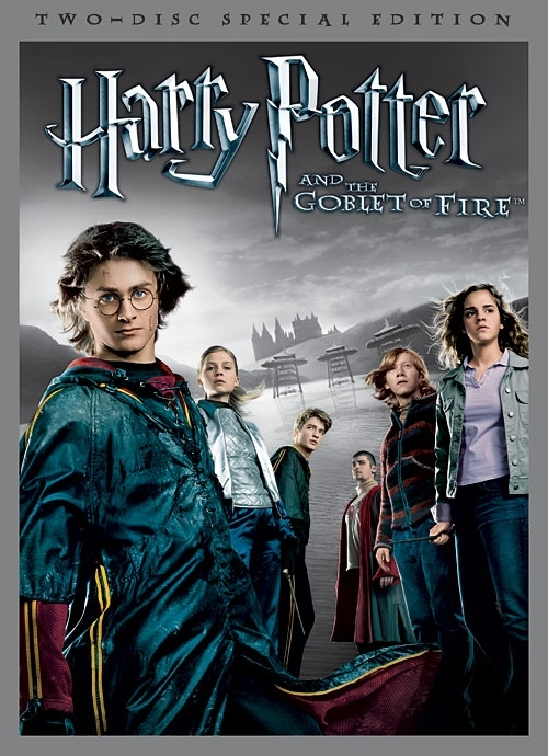 La copertina DVD di Harry Potter and the Goblet of Fire (Two-Disc Deluxe Edition)