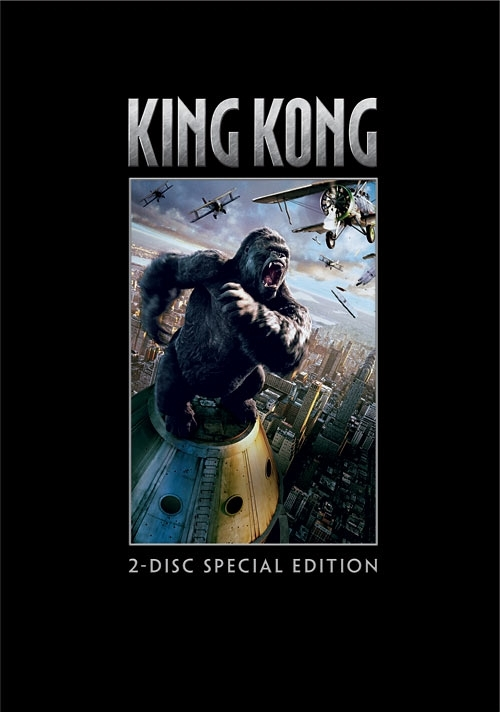 La copertina DVD di King Kong (2-Disc Special Edition)