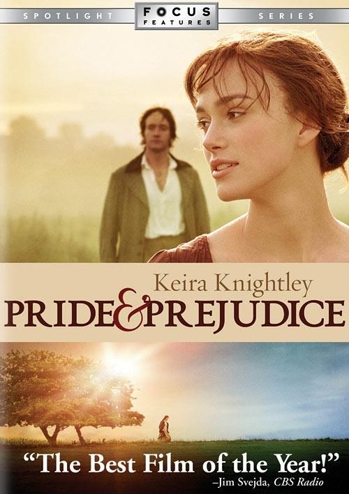 La copertina DVD di Pride & Prejudice (Widescreen Edition)