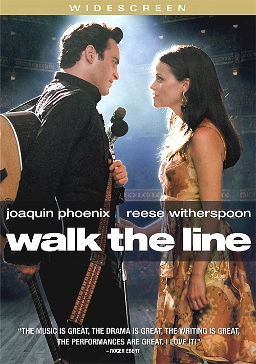 La copertina DVD di Walk the Line (Widescreen Edition)