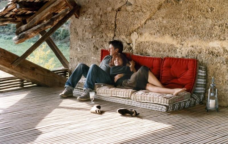 Daniel Auteuil e Sabine Azéma in una scena di  Incontri d'amore