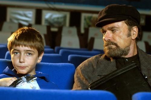 Franco Nero e il piccolo Daniel Piamonti in Forever Blues