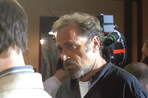 Franco Nero sul set di Forever Blues