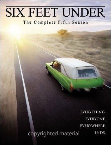 La copertina DVD di Six Feet Under - The Complete Fifth Season