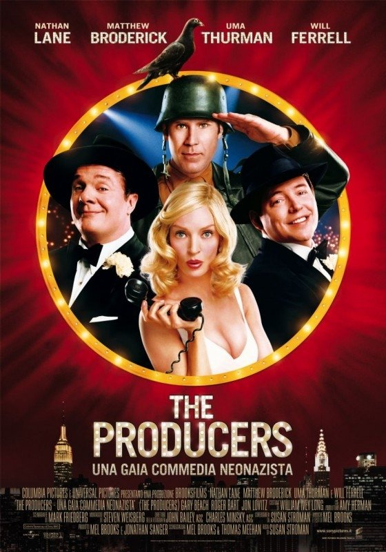 La locandina italiana di The Producers