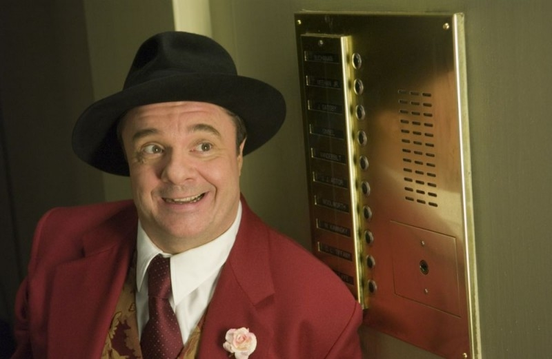 Nathan Lane in una scena di The Producers