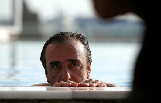 Silvio Orlando in una celebre scena de Il caimano
