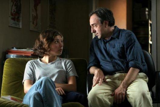 Silvio Orlando e Jasmine Trinca in una scena de Il caimano
