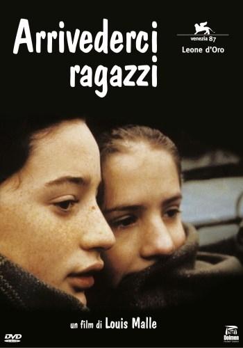 La copertina DVD di Arrivederci ragazzi